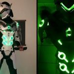 Light Up <em>Overwatch</em> Genji Cosplay Is Insanely Cool