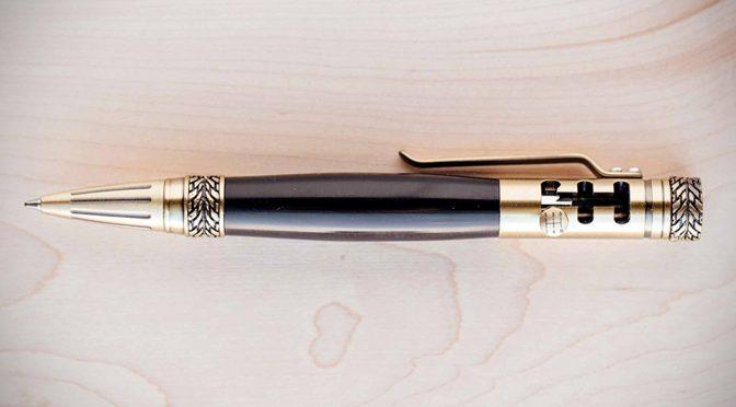 Gearhead Shifter Pen Lets You Stick Shift Through Boring Meetings