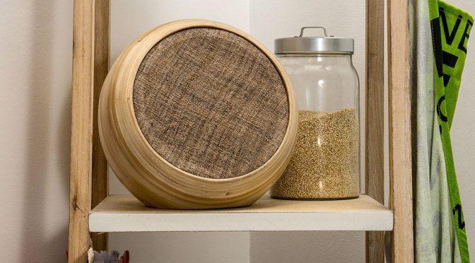 Hazang Coiled Bamboo Bluetooth Speaker Is Part Art, Part Speaker
