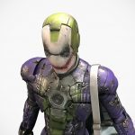 Iron Man Mark V x Joker Action Figure Mashup Is One Bat-ass Kicking Creation