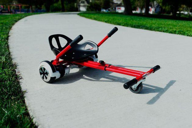 HoverKart Go-kart Attachment For Hoverboard