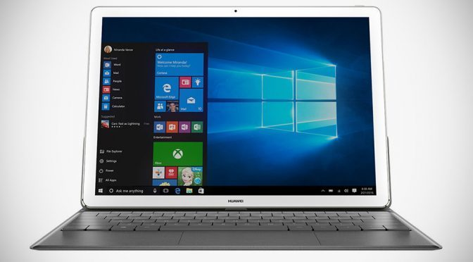 Huawei MateBook 2-in-1 Convertible Tablet Opens For Pre-order