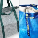 Ikea's Blue Frakta Bag Redesigned By Hay To Look A Little Classier