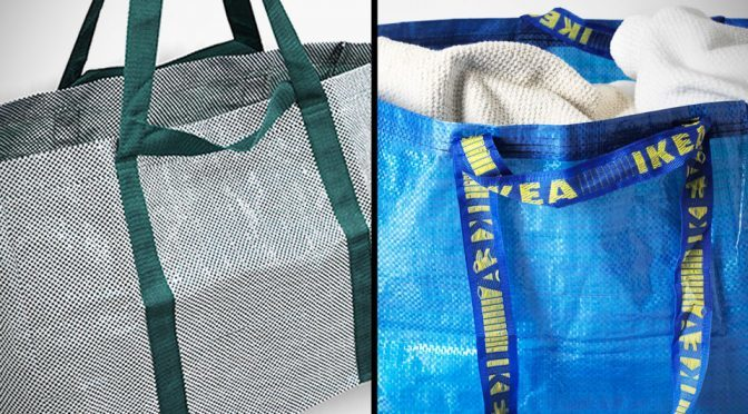 Ikea Frakta Bag Redesigned by Danish Design Studio Hay