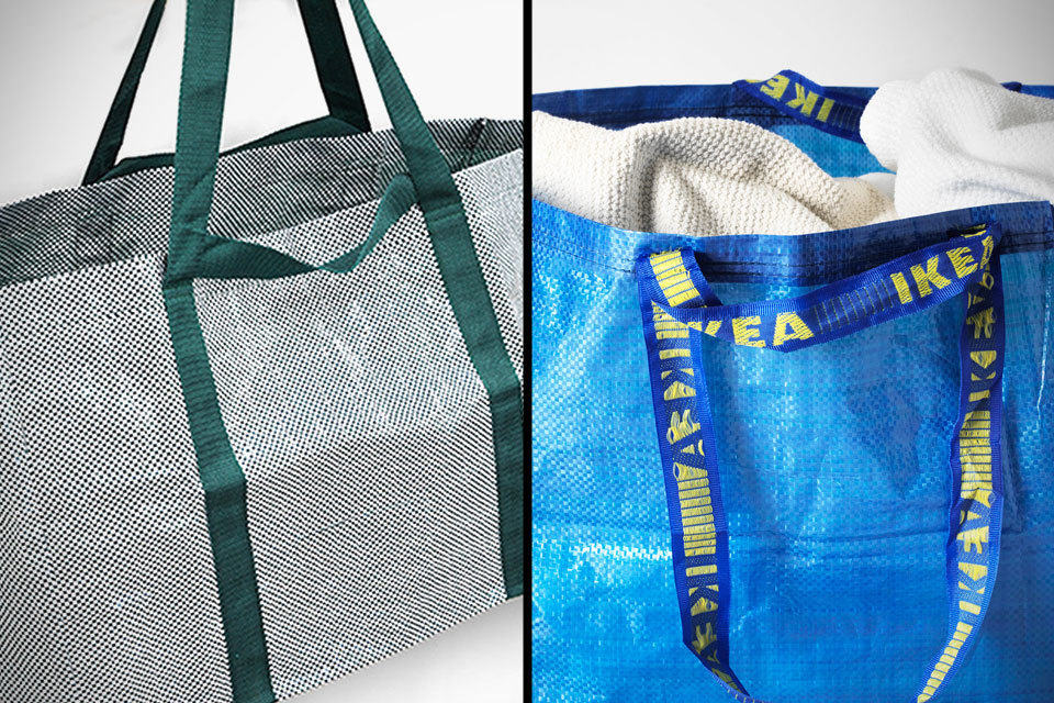 Ikea S Blue Frakta Bag Redesigned By Hay To Look A Little