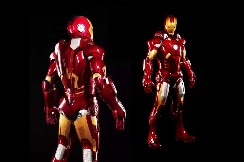 Seriously Why Buy An Iron Man Statue When You Can Wear