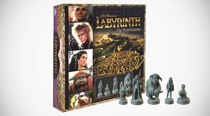 Jim Henson's Labyrinth: The Board Game Unveiled, Opens For Pre-order
