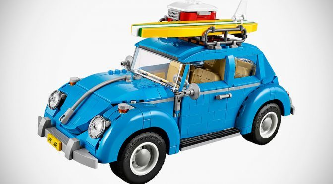 LEGO Surf-themed 60s Volkswagen Beetle Makes Us Want To Hit The Waves