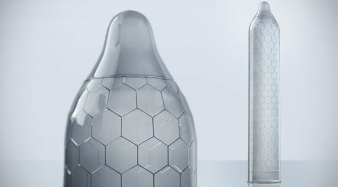 LELO HEX Re-engineered Condom