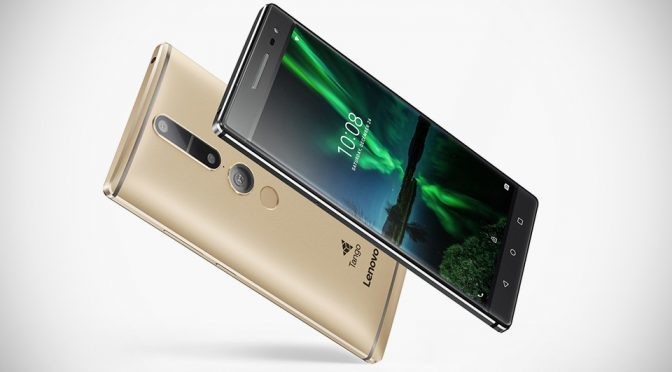 Lenovo Introduces World's First Tango-enabled AR Smartphone