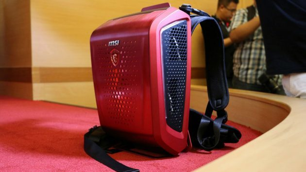 MSI Backpack PC for Virtual Reality