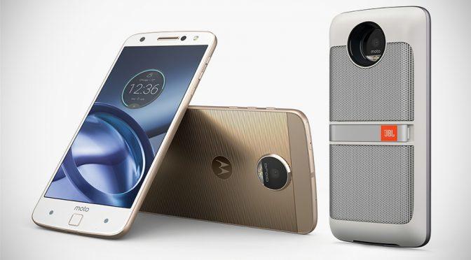 Motorola Moto Z, Motor Z Force And Modular Moto Mods Smartphone