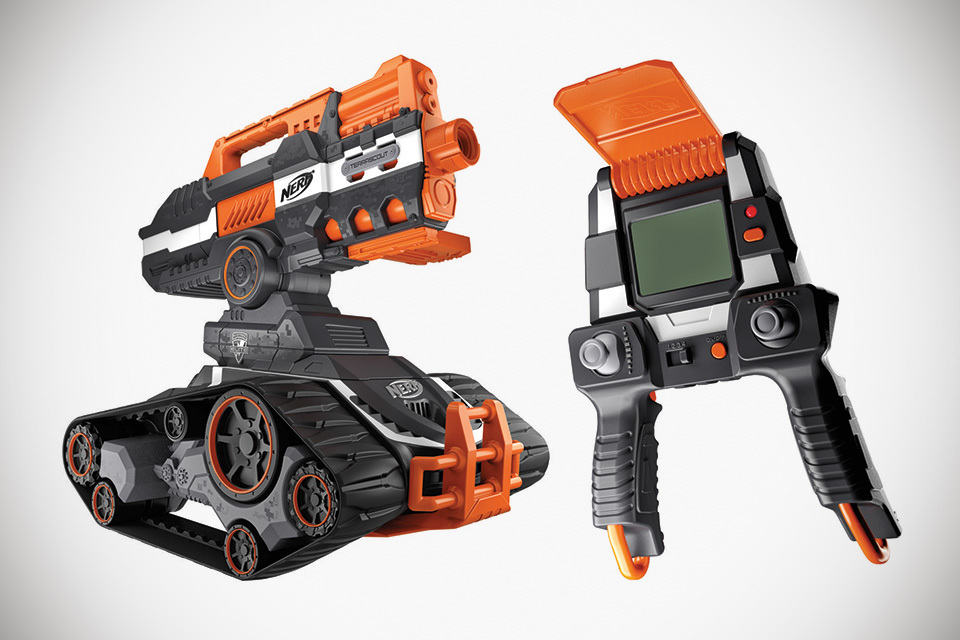 Nerf S Rc Dart Shooting Tank Is Ready To Strike From A