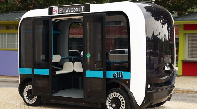 This Is Olli, She's Your Near Future Autonomous Transportation