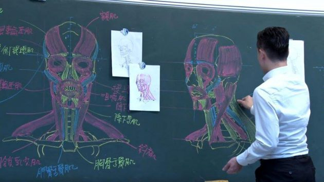 Professor Chuan-Bin Chung's Art with Anatomy