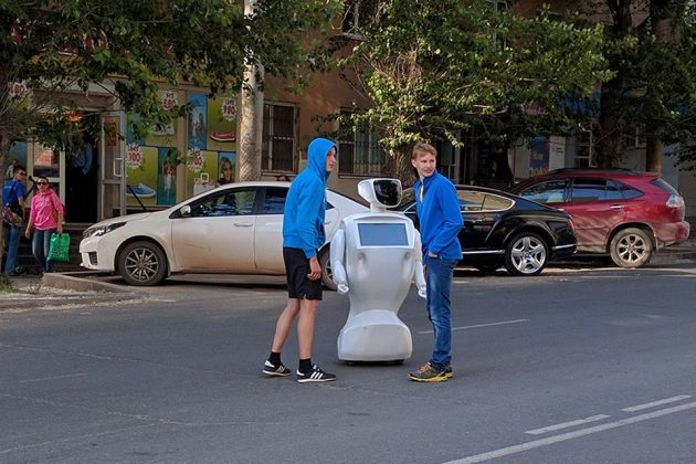Promobot V2 Escapes From Testing Facility in Russia