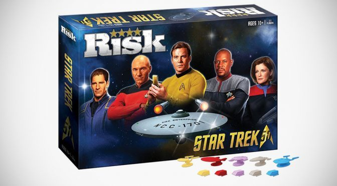 Star Trek Risk 50th Anniversary Edition Lets The Captains Vie For The Stars