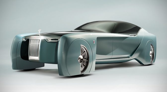 Rolls-Royce Vision Next 100: A Vision Perfect That Won't be Coming Soon