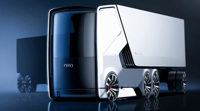 Concept Self-driving Electric Truck Looks Awesome, But Not Aerodynamic