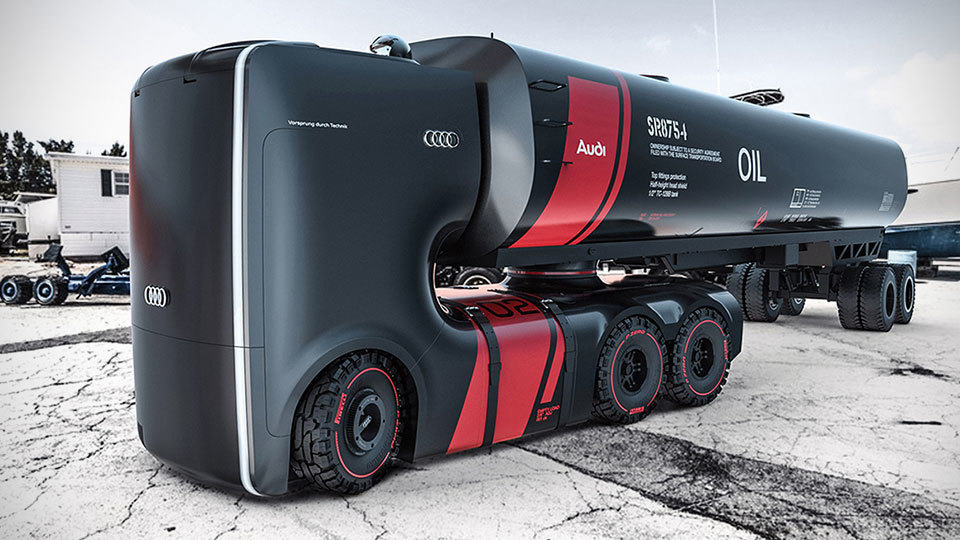 Here S Another Squarish Audi Truck Concept From Artem And Vladimir Mikeshouts