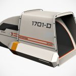 Trekkie Reimagined Star Trek Shuttlecraft Into A Camping Tent
