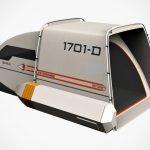Trekkie Reimagined Star Trek Shuttlecraft Into A Camping Tent