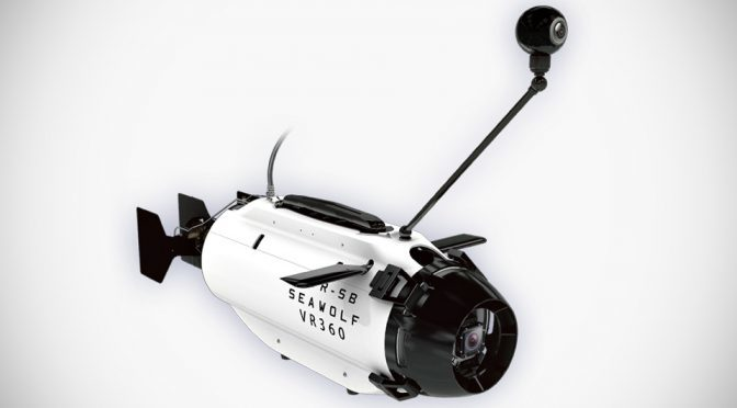 TTRobotix TR-SB Seawolf VR360 Unmanned Sea Vehicle