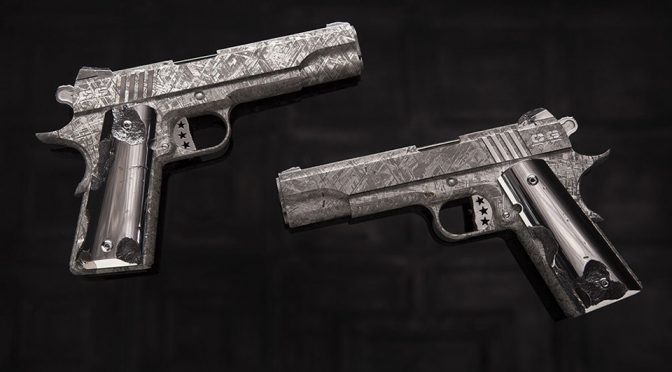 Meteorite Pistols 'The Big Bang Pistol Set' by Cabot Guns