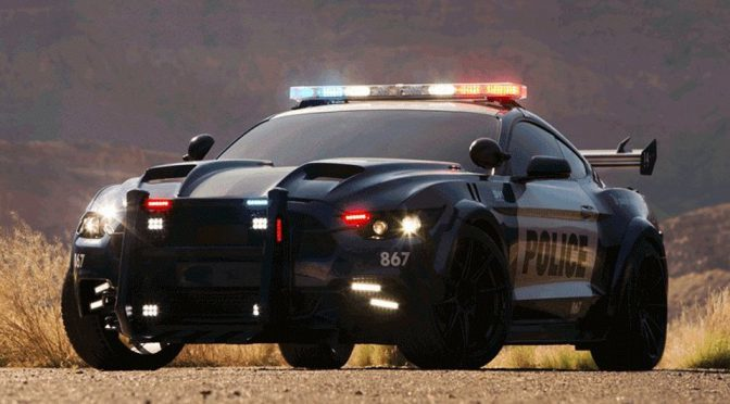 This Image Of The New Decepticons Barricade Tells Us He Is One Bad Cop