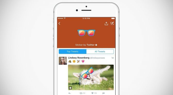 Twitter's New #Stickers Is The Visual Version Of The Good'ol Hashtag