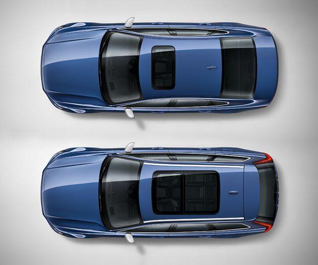 Volvo S90 Sedan and V90 Estate R-Design