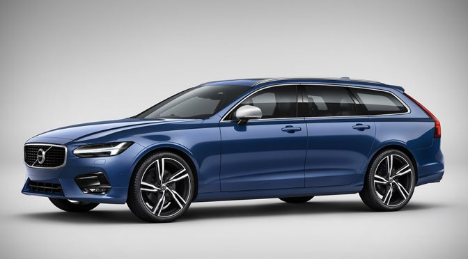 Volvo Adds Sporty Touches To S90 And V90 With R-Design Models