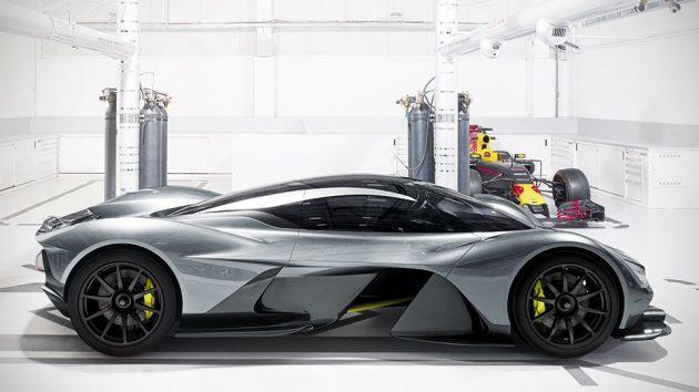 Aston Martin x Red Bull Racing AM-RB 001 Hypercar