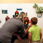 Awesome Brik Tile Lets You LEGO-lize Your Wall With Pixel Art And Shelves