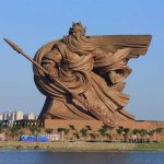 Colossal 190-Foot Statue Of China Deified Warrior Is Simply Breathtaking