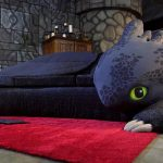 Custom Toothless Couch Is Every Dragon Fanatics' Dream Come True