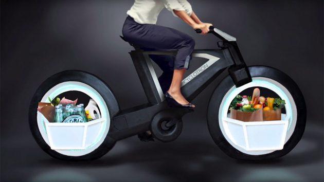 Cyclotron Bike Spokeless Smart Cycle