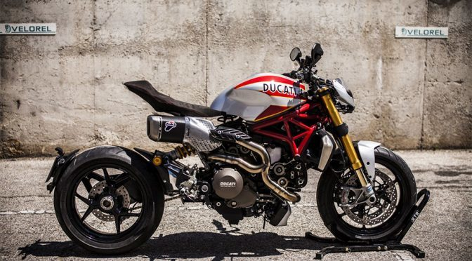 Custom Ducati Monster 1200 S 'Siluro' Superbike Is A Jaw-dropping Beauty