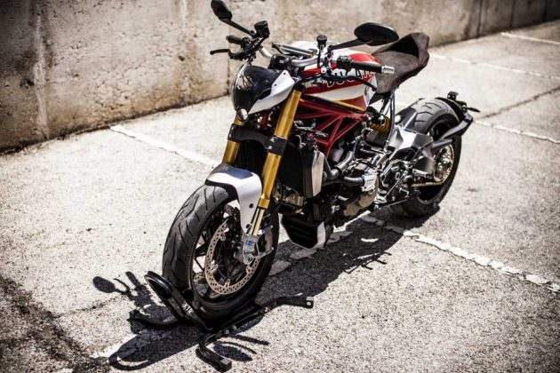 Custom Ducati Monster 1200 S Siluro Superbike Is A Jaw