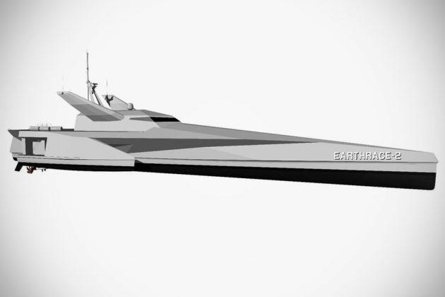 Earthrace-2 Conservation Vessel by LOMOcean