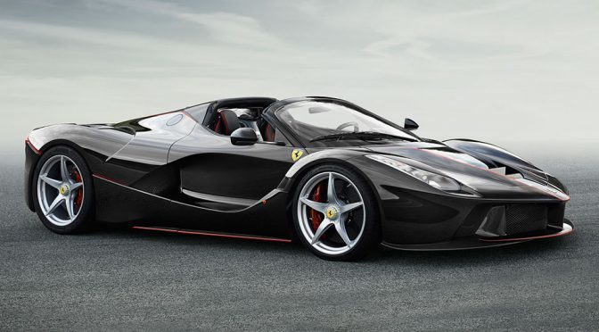 First Images Of Droptop LaFerrari Revealed And They Are All Sold