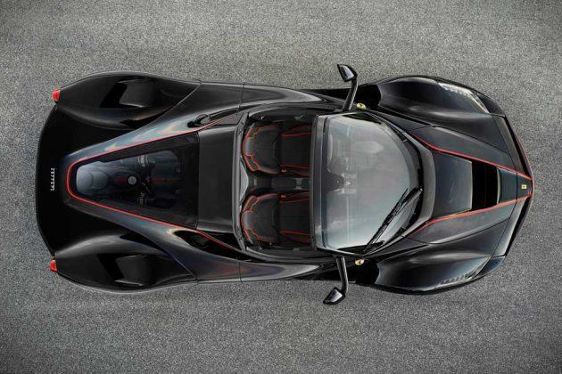 Ferrari LaFerrari Hybrid Roadster Supercar