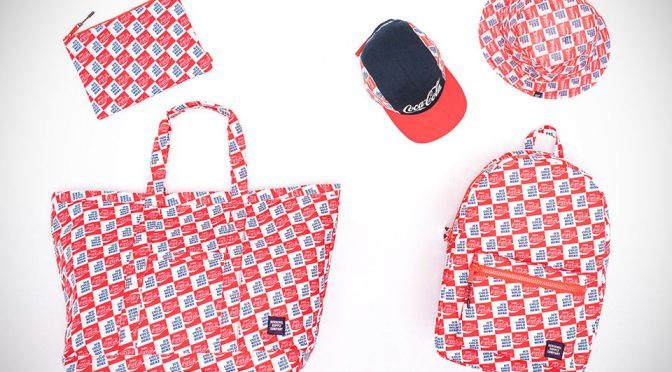 Herschel Supply And Coca-Cola Launches Fourth Collab Bags