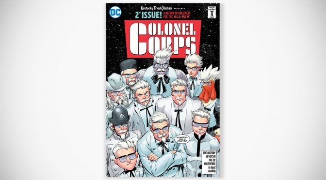 Colonel Sanderses Battle Anti-Colonel In New KFC Superhero Comic