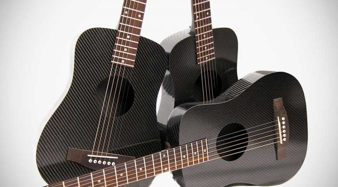 KLOS Guitars 2.0: A Carbon Fiber Travel Guitar That Can Take The Beatings