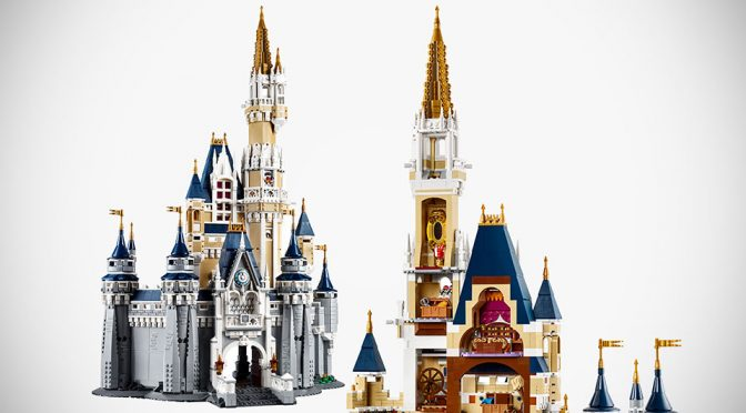 Walt Disney World Cinderella Castle Gets Immortalized In LEGO Bricks