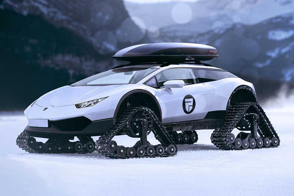 If Lamborghini With Tank Tracks Is Real It Would Be A