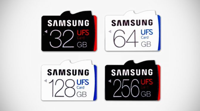 Samsung Universal Flash Storage Memory Card