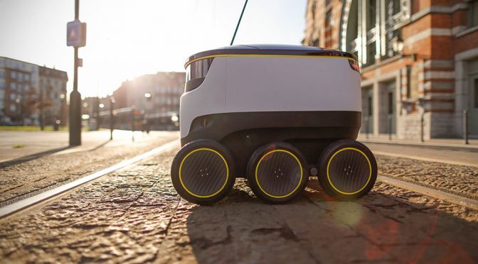 Starship Technologies Expands Self-driving Delivery Robots To More Cities