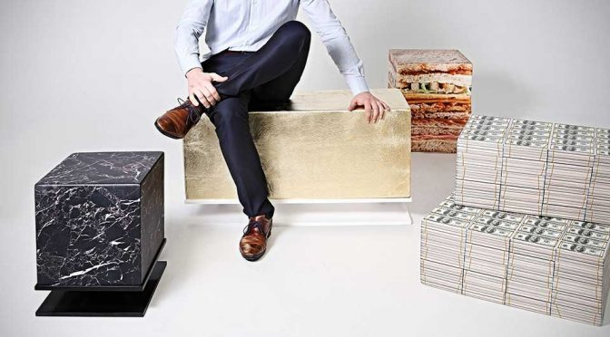 Sit On Everything Soft Cube Furniture by Benj&Soto